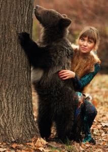 фотосессия с медведем (1)