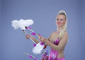 шоу с голубями на свадьбу 2