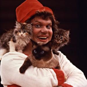 8(916) 601- 58 -77  Как Куклачев дрессирует кошку