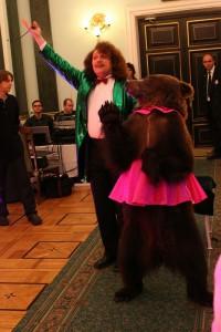 медведь на свадьбу