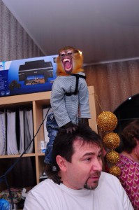 обезьянка мангоей
