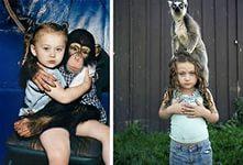 Фотосессия с экзотическими  животными 3