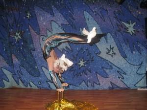 акробатика с голубями